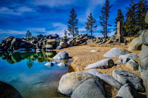 F-4 Wall Art - Photograph - Chimney Beach Lake Tahoe by Scott McGuire