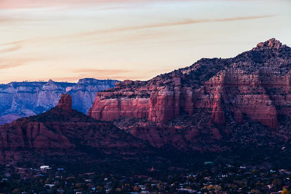 Photograph - Chimney Rock Sedona by Ed Gleichman