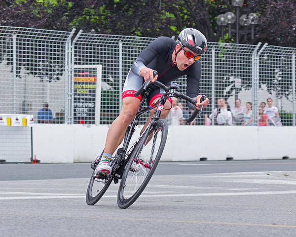 Photograph - Chin Picnic Bike Race Canada Day 2013 1 by Brian Carson