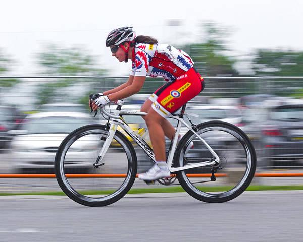 Photograph - Chin Picnic Bike Race Canada Day 2013 2 by Brian Carson