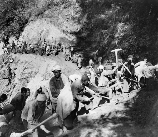 Wall Art - Photograph - China Burma Road, 1944 by Granger