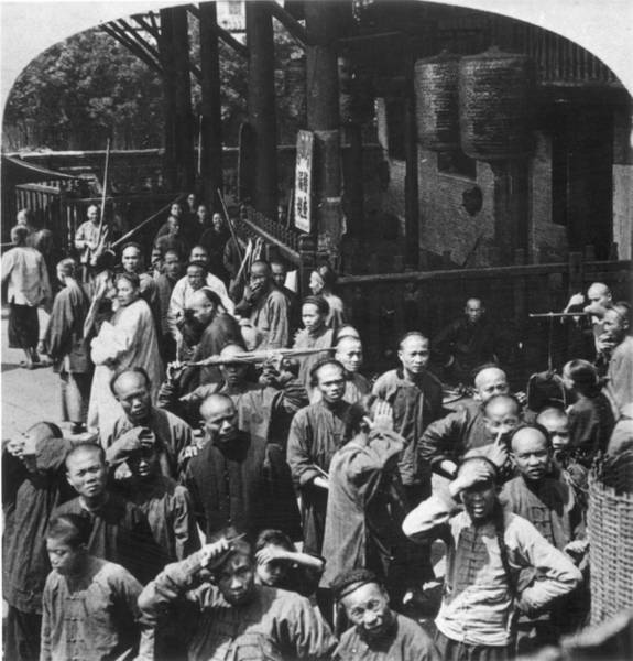Coolie Photograph - China, C1900 by Granger
