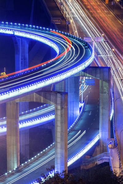 Wall Art - Photograph - China, Caiyuanba Bridge, High Angle by Paul Souders