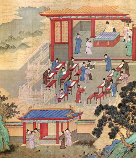 Painting - China Confucian Scholars by Granger
