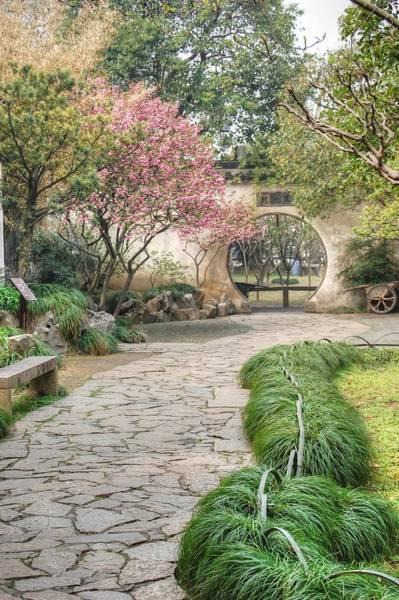 Photograph - China Courtyard by Bill Hamilton