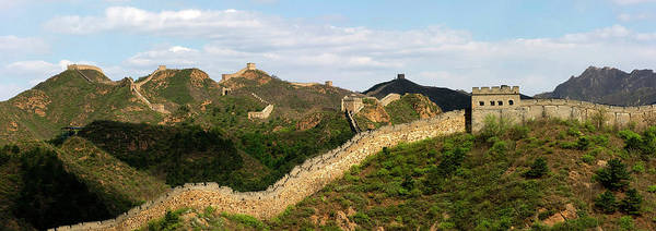 Wall Art - Photograph - China, Hebei Province, Great Wall Of by Mattes René / Hemis.fr