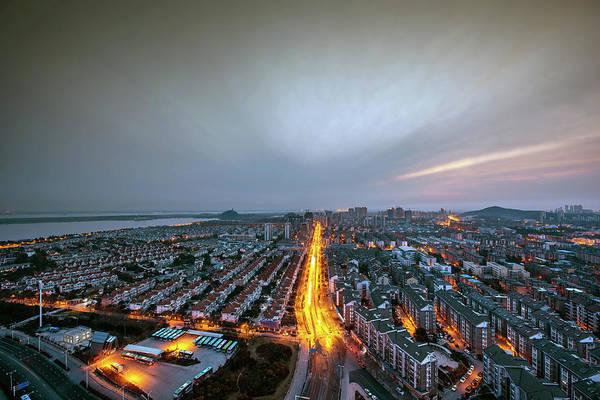 East Asia Photograph - China Jiangsu Townscape by Wei Wei