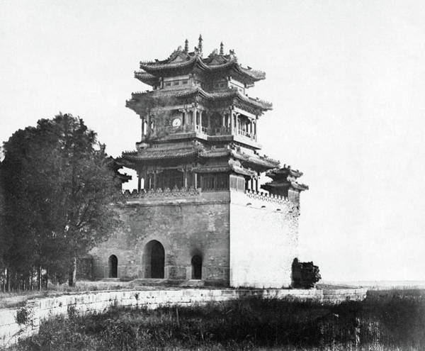 Wall Art - Photograph - China Old Summer Palace by Granger