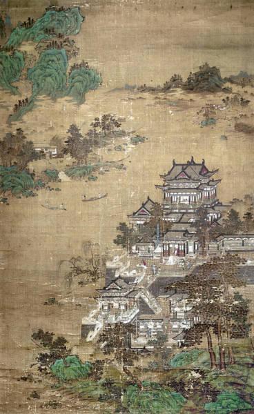 Wall Art - Painting - China Palace by Granger