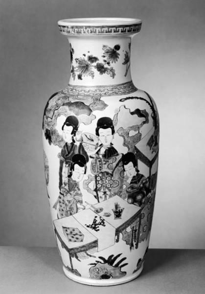 Wall Art - Photograph - China Porcelain Vase by Granger