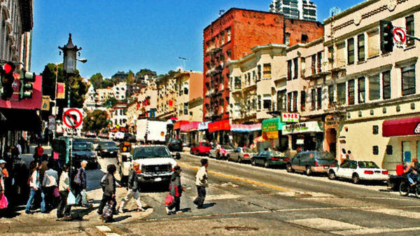 Photograph - China Town San Fran by Joseph Coulombe