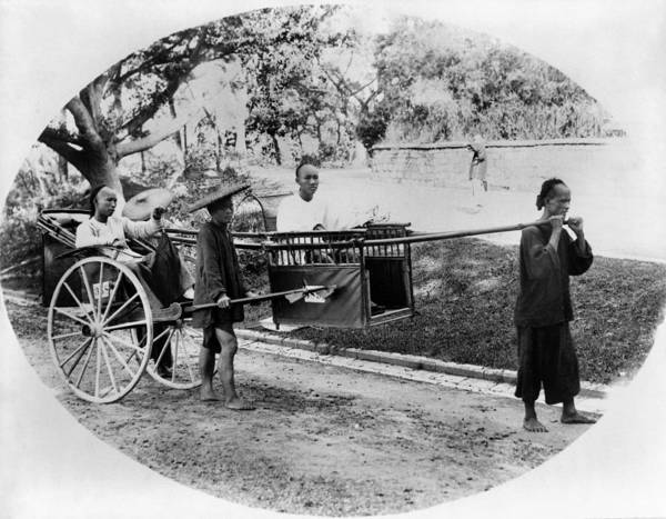 Coolie Photograph - China Travel, C1900 by Granger
