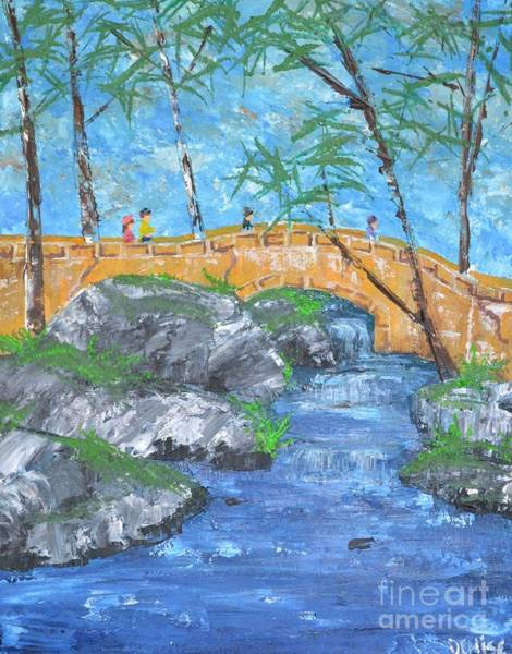 Painting - China Grove by Denise Tomasura