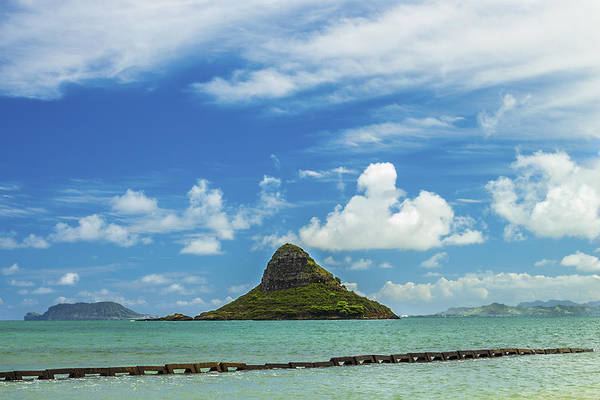 Mokolii Photograph - Chinaman's Hat 2 by Leigh Anne Meeks