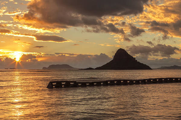 Mokolii Photograph - Chinaman's Hat 5 by Leigh Anne Meeks