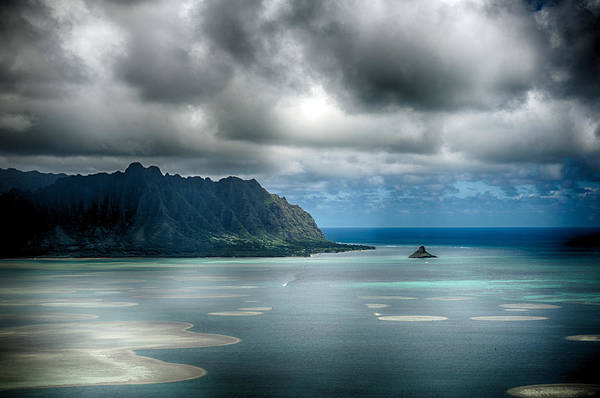 Chinaman's Hat From Puu Maelieli Art Print