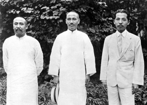 Beijing Photograph - China's War Leaders Conference by Underwood Archives