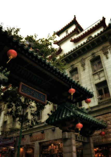 Photograph - Chinatown Entrance by Michelle Calkins