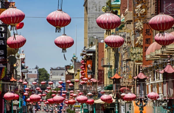 Photograph - Chinatown Lanterns by Kate Brown