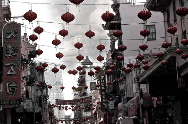 Chinese New Year Photograph - Chinatown by Larry Butterworth