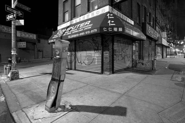 Photograph - Chinatown New York - Division And Ludlow Street by Gary Heller