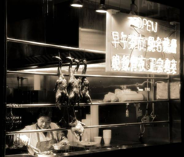 Wall Art - Photograph - Chinatown Restaurant New York City by Dan Sproul