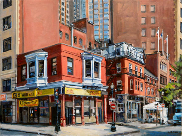 Painting - Chinatown View by Deb Putnam