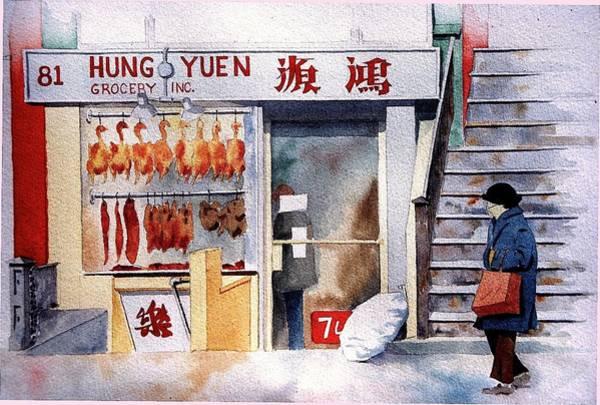 Painting - Chinatown by William Renzulli