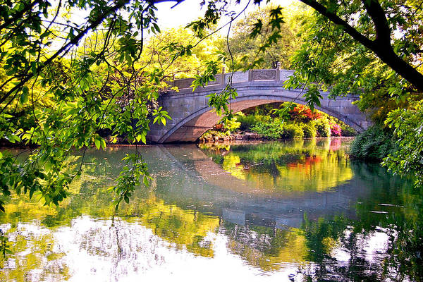 Photograph - Chinese Bridge by HweeYen Ong
