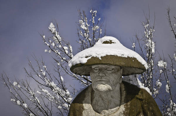 Photograph - Chinese Coolie Statue 2 by Sherri Meyer
