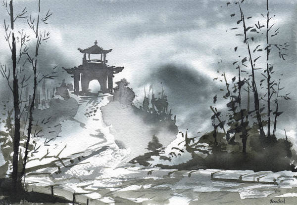 Painting - Chinese Landscape by Sean Seal