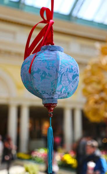 Photograph - Chinese Lantern - Bellagio by Michael Hope