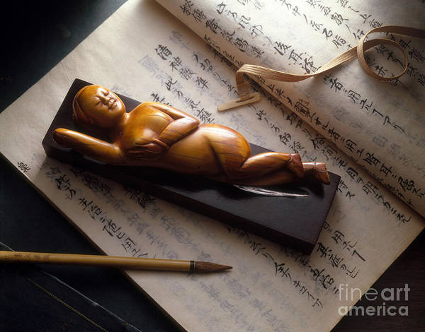 Photograph - Chinese Medicine Doll by Brooks  Brown