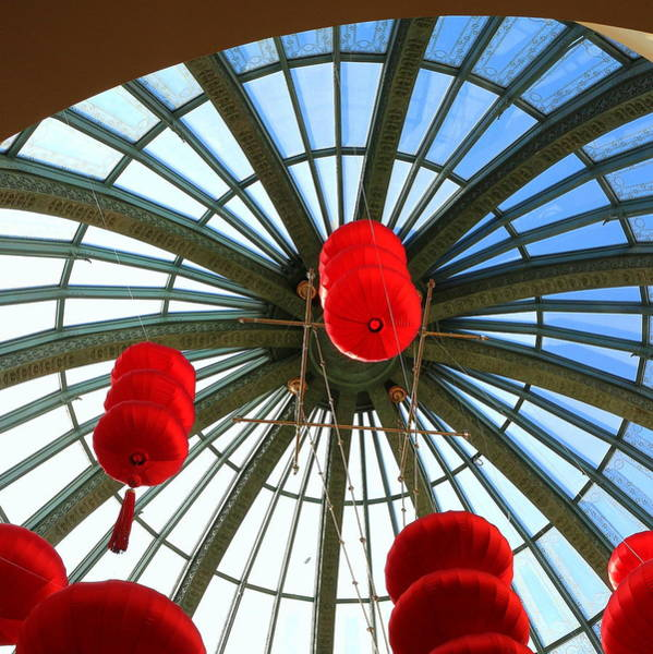 Photograph - Chinese New Year Bellagio Dome by Michael Hope