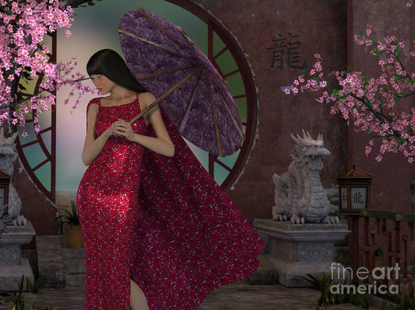 Digital Art - Chinese New Year by Elle Arden Walby