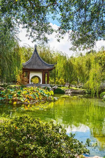 Chinese Pavilion Photograph - Chinese Pagoda by Jamie Pham