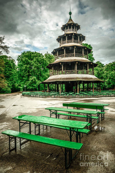 Photograph - Chinesischer Turm I by Hannes Cmarits
