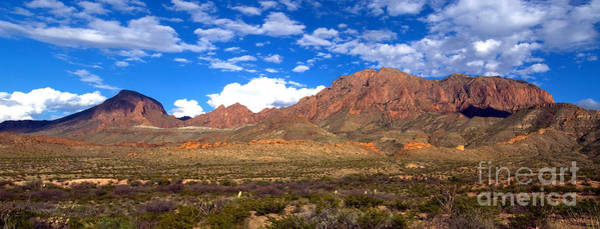 Chisos Mountains Photograph - Chisos Mountains, Big Bend, Texas by Gregory G. Dimijian, M.D.