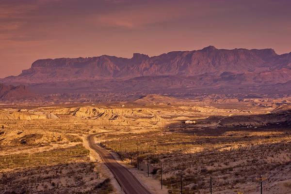 Chisos Mountains Photograph - Chisos Mountains In Chihuahuan Desert by Witold Skrypczak