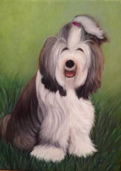 Painting - Chloe by Jeannette Tramontano