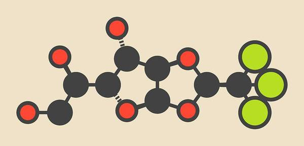 Wall Art - Photograph - Chloralose Rodenticide Molecule by Molekuul/science Photo Library