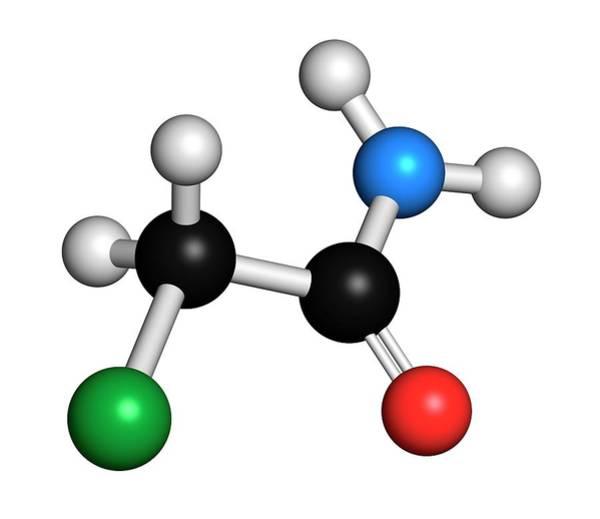 Preservative Wall Art - Photograph - Chloroacetamide Preservative Molecule by Molekuul/science Photo Library
