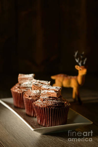 Wall Art - Photograph - Chocolate Cakes For Christmas by Amanda Elwell