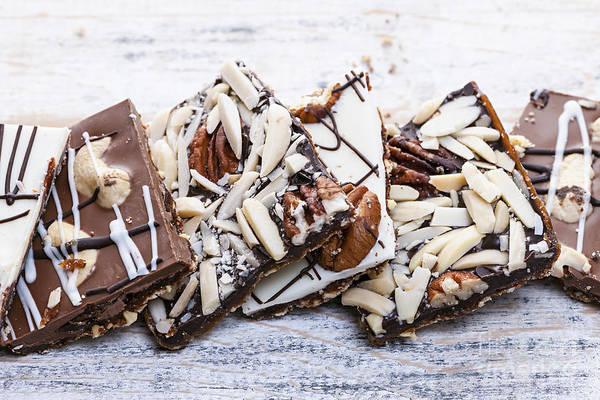 Photograph - Chocolate Caramel Bark  by Elena Elisseeva