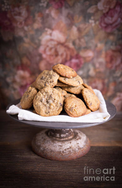 Chocolate Chips Wall Art - Photograph - Chocolate Chip Cookies by Edward Fielding