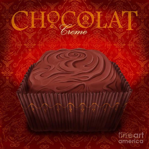 Wall Art - Mixed Media - Chocolate Creme by Shari Warren