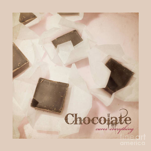 Photograph - Chocolate Cures Everything by Cindy Garber Iverson