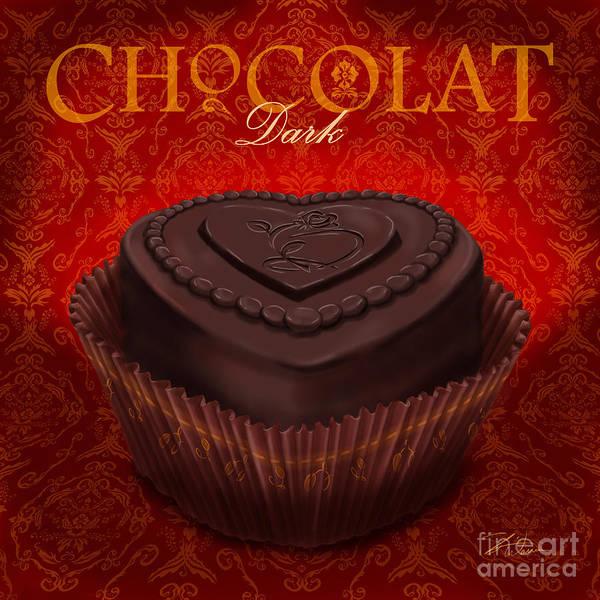 Chocolate Dark Art Print