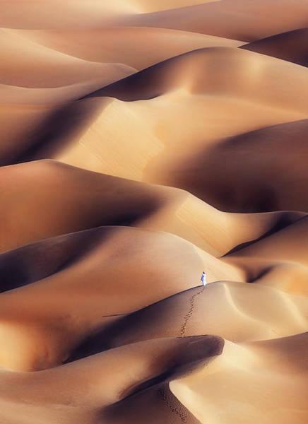 Quarter Wall Art - Photograph - Chocolate Dunes by Khalid Al Hammadi