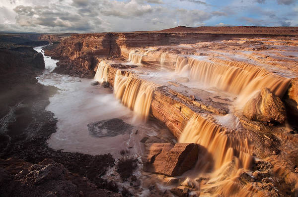 Wall Art - Photograph - Chocolate Falls by Guy Schmickle